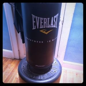 Everlast free standing heavy bag